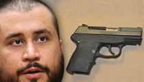 George Zimmerman -- Trayvon Martin Gun Sells For Over $120k