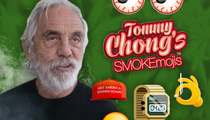 Tommy Chong -- Up In SMOKEmojis (PHOTOS)