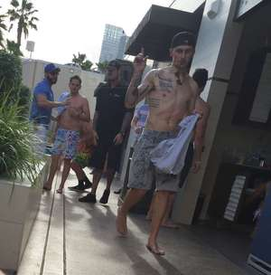 Johnny Manziel at Wet Republic -- The Pool Party Pics