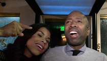 Kenny Smith's Wife -- Hey Rockets ... HIRE MY HUSBAND!!! (VIDEO)