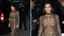 Kim Kardashian -- I'm a Private, and You Can Almost See My Privates (PHOTOS)