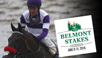 Nyquist -- Pulled from Belmont ... Too Sick to Race
