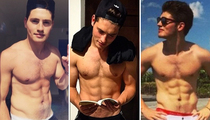 19 Shirtless Shots Of Gregg Sulkin To Celebrate The Birthday Babe