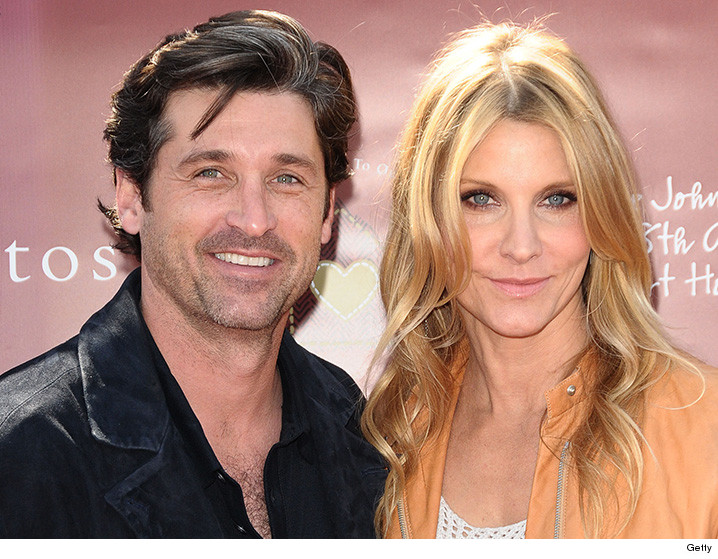 Patrick and Jill Dempsey -- Judge Wants Answers ... Are You Really Divorcing???
