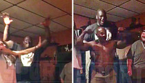 Shaq -- Goes Bonkers Over Hippie Rapper ... I'm Your Mentor Now! (Video)