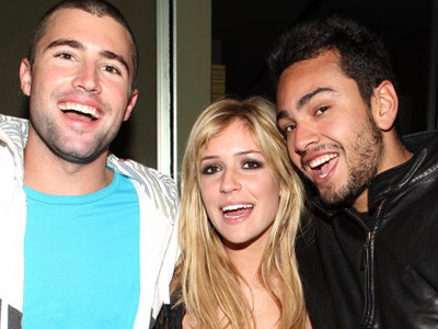 "Wait Until You See Frankie Delgado NOW -- As He Reunites with ""Hills"" Costars Brody Jenner &…"