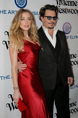 Amber Heard & Johnny Depp -- Before the Split