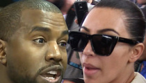 Kim and Kanye -- Threaten Blabbing Bodyguard with $30 Mil Lawsuit