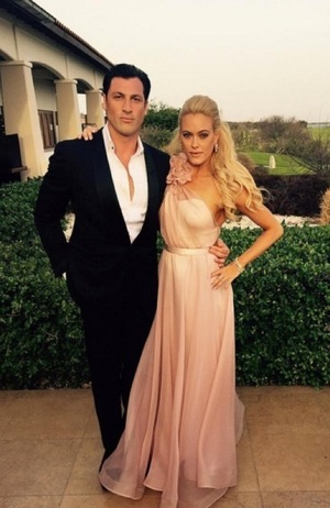 Peta Murgatroyd and Maksim Chmerkovskiy -- Happy Couple