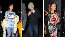 Rihanna, Leo DiCaprio, Nina Agdal -- Three's a Charm? (PHOTO)