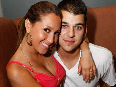 Adrienne Bailon Talks About CHEATING Ex -- And All Signs Point to Rob Kardashian!
