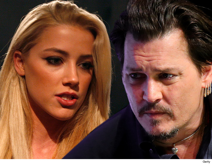 Amber Heard -- 'Ear-Witnesses' Says She's a Liar ... Johnny Wasn't Near Her