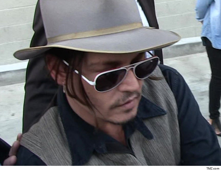 Johnny Depp -- Coke and Booze Fueled Recent Violence ... Amber Claims