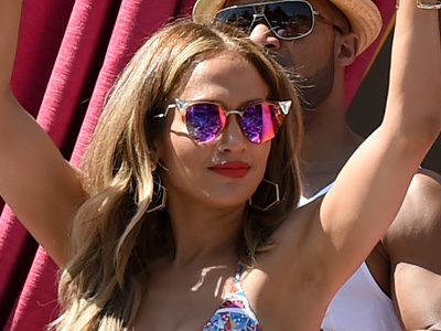 J.Lo Gets WILD with Casper at Vegas Pool Party -- Her BIKINI Bod Is Just INSANE!