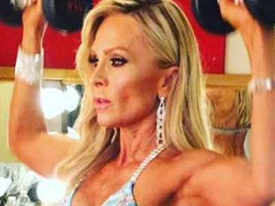 WHOA! Tamra Got Totally JACKED -- Wait'll You See Her at Bodybuilding Event!