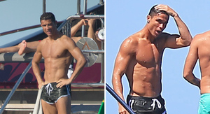 Cristiano Ronaldo -- The Champ Is Here ... Wet…