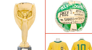 Pele -- OId Balls Up for Grabs ... But They Ain't…