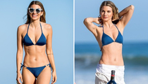 Rachel McCord -- Looking Blue in Skimpy Two-Piece