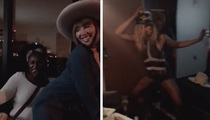 Laverne Cox -- 'OITNB' Stars Got Turnt for My Beyhive Birthday Bash (VIDEO)