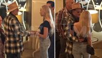 Johnny Depp -- I Got Stockholm Syndrome ... with Hot Swedish Chicks! (PHOTOS)
