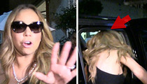 Mariah Carey --  SUV Head-On Crash ... No Problem for Me (VIDEO)