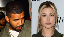 Drake -- I Got a Souvenir From My Night with Hailey Baldwin (PHOTOS)