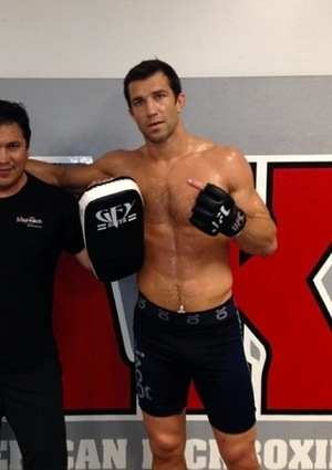 UFC Fighter Luke Rockhold's Ripped Shots