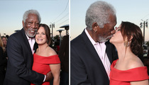 Morgan Freeman -- Mouth-to-Mouth Redemption (PHOTO)
