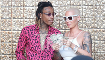 Wiz Khalifa and Amber Rose -- We're Still Down for Each Other ... Just Add Ass! (PHOTOS + VIDEO)