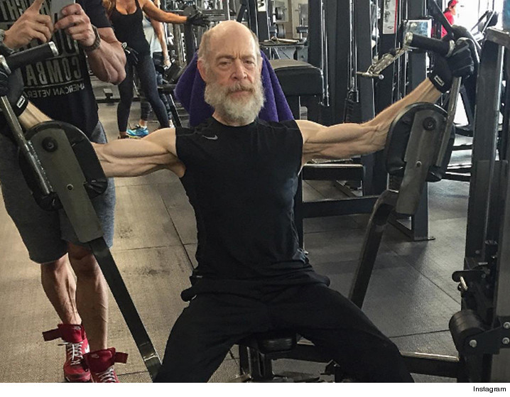 JK Simmons is jacked in viral training photo