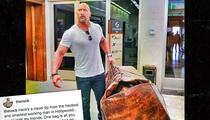 The Rock -- So Big, So Leathery! (PHOTO)