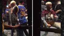 Justin Bieber -- Hold Me Back! Bear Hugged Post-Brawl (NEW VIDEO)