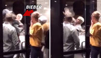 Justin Bieber -- Throws Down in Huge Fist Fight! (VIDEO)