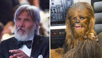 Harrison Ford -- Hair Today, Chewy Tomorrow (PHOTO)