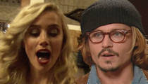 Amber Heard -- You Watch ... Johnny's Gonna Take the 5th