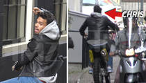 Chris Brown -- Dirt Bike Bust in Amsterdam ... He's Cool with Cops (VIDEOS + PHOTO)