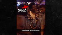 Rapper David Banner -- Arrested in D.C. After Going BALLISTIC (VIDEO)