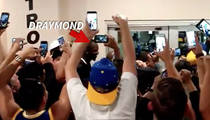 Draymond Green -- Gets 'MVP' Chant ... While Leaving Bathroom (VIDEO)