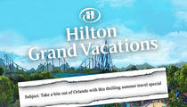 Disney Attack -- Hilton Apologizes for Biting Email