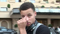 Steph Curry -- Fined $25k for Throwing Mouthpiece ... No Suspension