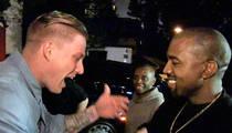 Kanye West -- Gets Street Rapper Cameron Grey in Studio to Cut His Dream Album (VIDEO)