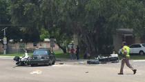 Orlando Shooting -- Car Barrels Into Victim Funeral Procession ... 2 Cops Hospitalized