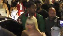 Meek Mill, Nicki Minaj -- 'Free at Last' Party at Playhouse (VIDEO)
