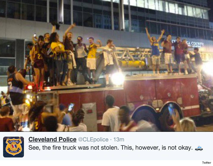 0619_fire_truck_cleveland-police_twitter