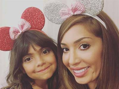 Farrah Abraham Under Fire for Posting EXTREMELY Wrong, Provocative Photo of 7 y/o Daughter