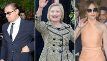 Hillary Clinton -- I See Stars, I See Dollar Signs (PHOTO GALLERY)