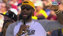 LeBron James -- I'm the Bleepin' Champ!!! (VIDEO)