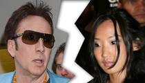 Nicolas Cage -- Separates From His Wife