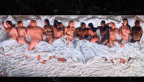 Kanye West Claims Nude Celebs in Music Video Are Real