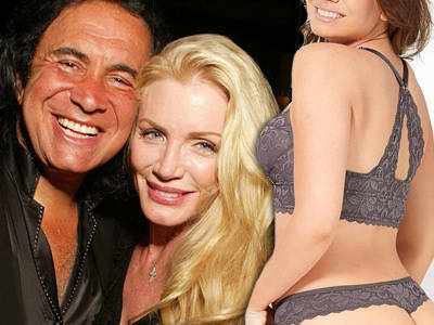 Gene Simmons & Shannon Tweed's Daughter Models LINGERIE -- Wait'll You See Her Booty!